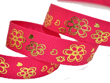 Ribbon bronzing is divided into two processes