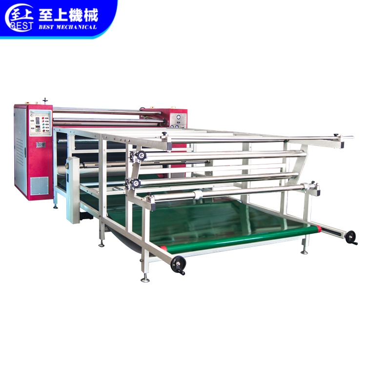 Roller heat press machine