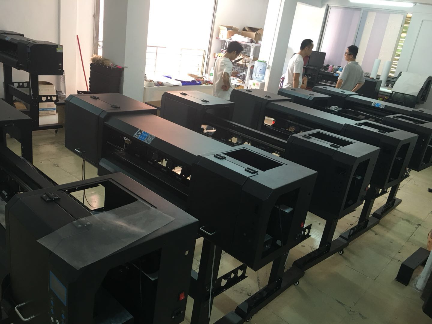 Inkjet printer for heat transfer film
